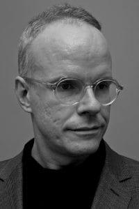 Hans Ulrich Obrist B&W