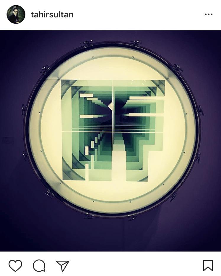 4.Beat by Iván Navarro showcased with Galerie Daniel Templon @tahirsultan
