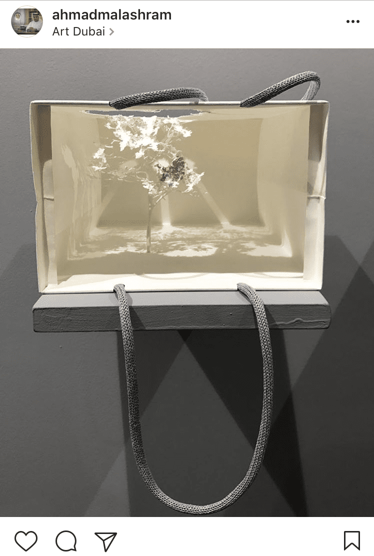 9. Apple Bag's by Yuken Teruya showcased with Pierro Atchugarry @ahmadmalashram