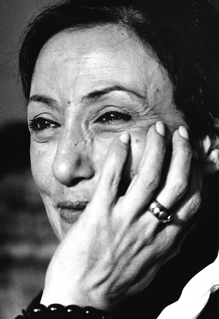 Huguette Caland. Photo Courtesy Waddah Faris, Saleh Barakat Gallery and Agial Art Gallery