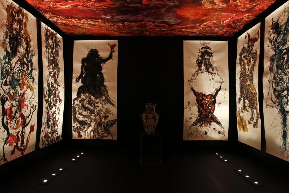 Marwan Sahmarani, Feast of the Damned, Abraaj Capital Art Prize 2010 courtesy Capital D Studio